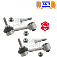 VW AUDI SKODA SEAT REAR ANTI ROLL BAR LINK RODS DROP LINKS & BOLTS FEBI x2 A1470