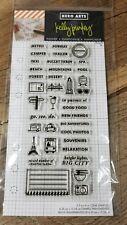 Hero Arts Planner Stamp Set Kelly Purkey  CL932 Travel