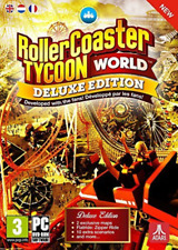 PC-RollerCoaster Tycoon World Deluxe Edition /PC (UK IMPORT) GAME NEW