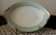 Raynaud and Company Limoges cream and pale green platter
