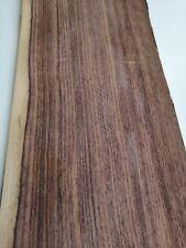 """Santos Rosewood Veneer 110,2/"""" x 12,2/""""  Wood Veneer Sheet 2800mm x 310mm"""