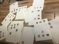 Germany Stamps German bundespost 79 leaves unmounted Mint Lot xx#4