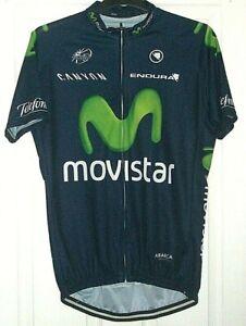 UCI ProTour- Endura -Canyon - Movistar - Cycle Jersey in Navy Size XXXL