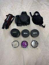 Canon Eos 2000D Rebel T7 Digital Slr Camera Kit and Accessory Bundle