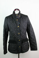 JOULES Black Quilted Jacket size Uk 12