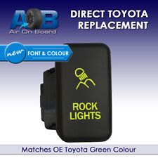 Push switch 815NG 12volt Toyota OEM Replacement ROCK LIGHTS new green FJ Cruiser