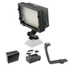 Pro 7D 12 LED video light F970 for Canon 7D Mark II 6D 80D 77D 70D 60D 50D EOS