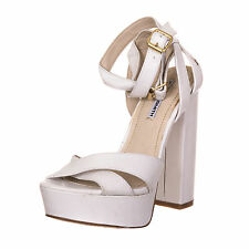 Windsor Smith donna woman scarpa shoes white bianco EU 37 - 038 H03
