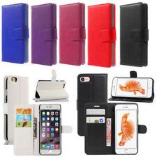 Etui portefeuille simili cuir pour iPhone 5/5S/SE