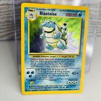 Blastoise  Holo 2/102  Base Set 1999 Pokemon Card  #2 Light Play