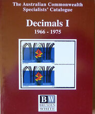 AUSTRALIA 2002 BRUSDEN WHITE DECIMALS 1966-2001 SPECIALISTS CATALOGUE 3 VOLUMES