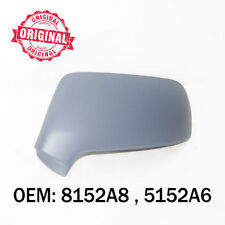 Left Side Wing Mirror Cover Primed For Peugeot 3008 5008 Citroen C3 C4 Picasso