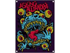 ASKING ALEXANDRIA - Eyeballs - Flagge / Posterfahne  Textil-Poster  Posterflag