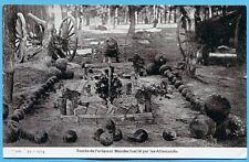 CPA: Tombe de l'aviateur Mendes fusillé par les Allemands / Guerre 14-18