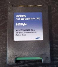 "Samsung 2.5"" 16GB, IDE 44-Pin (MC8DE16G5APP-0XA) SSD Solid State Drive"