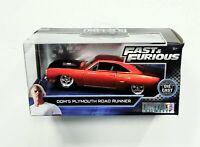 JADA Dom's Plymouth Roadrunner (Burnt Orange) Fast & Furious Item 24075 1:32