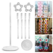 Large Balloon Arch Set Column Stand Base Frame Kit Wedding Birthday Party Decor
