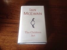 IAN MCEWAN-THE CHILDREN ACT- Signed 1st Ed, Unread, Free Postage In AUS