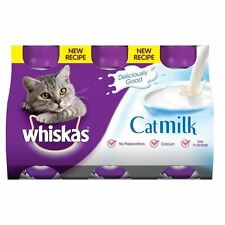 Whiskas Milk 3 X 200 Ml (pack of 5)