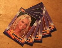 Jennie Finch Rookie Review Lot of 5 cards