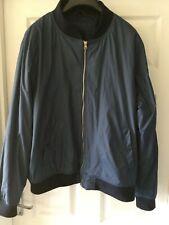 Men's Cedarwood state  blue bomber jacket size XL