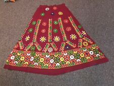 Indian Dandiya Kutch Embroidered Work Lehenga Choli-Gujarati Traditional Wear