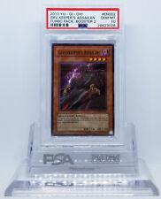 YUGIOH TU02-EN002 GRAVEKEEPER'S ASSAILANT SUPER RARE PSA 10 GEM MINT #28623026