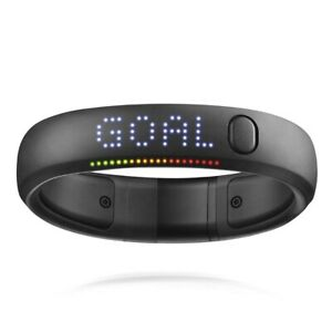 NIKE+ FUELBAND Size X-LARGE Black Noir Fitness Tracker USED IN BOX (ORIG $149).