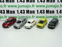 LOT n°8 : 5 X 3 inches 1/64 NOREV PEUGEOT 107 404 807 4007, CITROEN C5