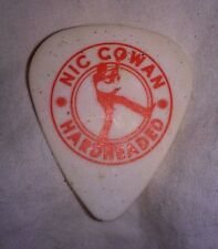 Nic Cowan signature guitar pick hardheaded tour southern ground artist