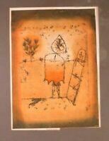 PAUL KLEE, 'WINTER REISE', ORIGINAL POCHOIR PRINT 1964 PARIS