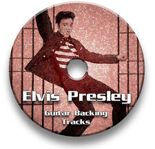 ELVIS PRESLEY STYLE AUDIO CD ROCK N ROLL ROCK GUITAR BACKING JAM TRACKS