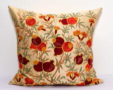 Pomegranate tree Silk handmade Embroidery Suzani pillow cover Suzani cushion