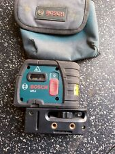 Bosch Gpl5 Proffesional Self Leveling Laser Level Tool With Pouch