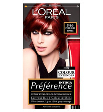 L'Oreal Infinia Preference P46 Pure Ruby Power Permanent Hair Dye NEW
