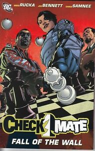 CHECKMATE FALL OF THE WALL...TPB...NM-...2008...Hard To Find Bargain!