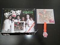 RBD REBELDE EMPEZAR DESDE CERO FAN EDITION PACK OFICIAL CD + RELOJ nuevo &