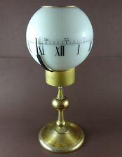 "Vintage Swiss IMHOF Tempus Fugit 8 Days Ball ""Sphere"" Table Clock, Ref. 75/845"
