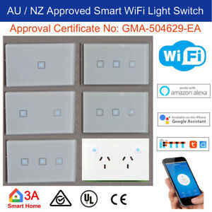 WiFi Smart Light Switch, Dimmer, GPO for Upgrading Normal Switch Home Automation