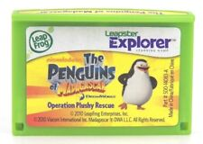 Leapfrog Leapster Explorer PENGUINS Game with case Leap Pad,2,3,GS,XDi Ultra