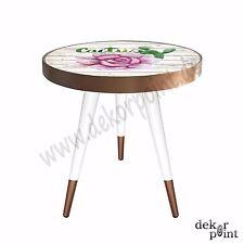 Beistelltisch Couchtisch Tisch Coffee Table mit Design Motiv Cactus Muster