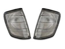 Euro *Light* Smoke Corner Signal Light Pair For 86-95 Mercedes Benz W124 E Class