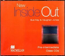 Macmillan New Inside Out Pre-intermediate Class CDs/Sue Kay & Vaughan Jones New