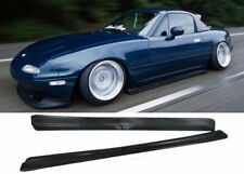 90-97 MAZDA MIATA MX5 SIDE SKIRTS FD POLY URETHANE BODY KIT