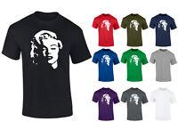 Mens Marilyn Monroe Face Hollywood Movie Icon T-shirt S-XXL