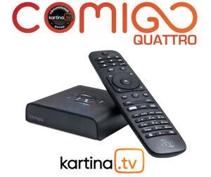 Kartina Comigo QUATTRO - am meisten gefragten WLAN/LAN Receiver Kartina.TV