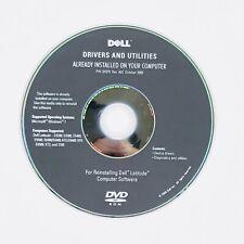 Dell Drivers Utilities Reinstalling Latitude Computer Software Windows 7 2009