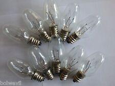 Highest Quality (10 PACK) 15 watt NIGHT LIGHT Bulb Fits (Scentsy PLUG IN Warmer)