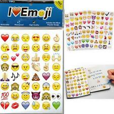 48 Die Cut Emoji Smile Face Sticker Pack IPhone Android Laptop Decor Stickers XD