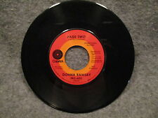 """45 RPM 7"""" Record Donna Ramsay Cool Green Waters & Page Two Promo PRO-6012 VG+"""